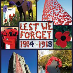 WW1 Southfleet Village Kent and St Nicholas Church are remembering 100 years since Armistice Day
